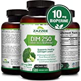 DIM 250 mg per Capsule | 4 Month Supply | 120 Veggie Capsules