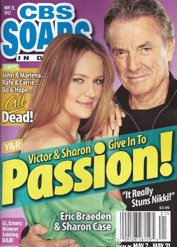 CBS Soaps In Depth Magazine - May 21, 2012 - Eric Braeden & Sharon Case (Young & the Restless)