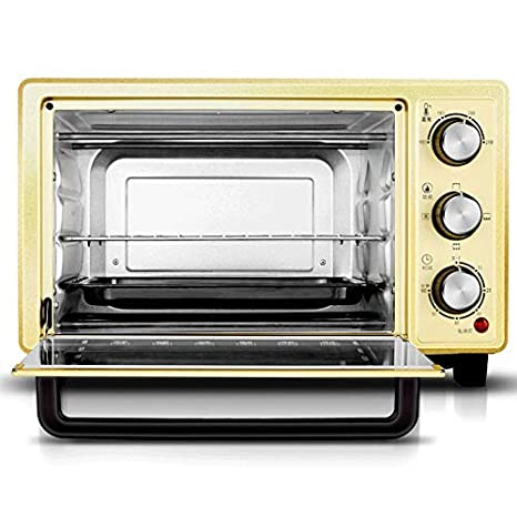 LQRYJDZ horno eléctrico, 18L función de hornear hogar, pizzero, de ...
