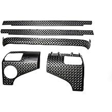 Rugged Ridge 11651.51 Black Diamond Plate Body Armor Kit