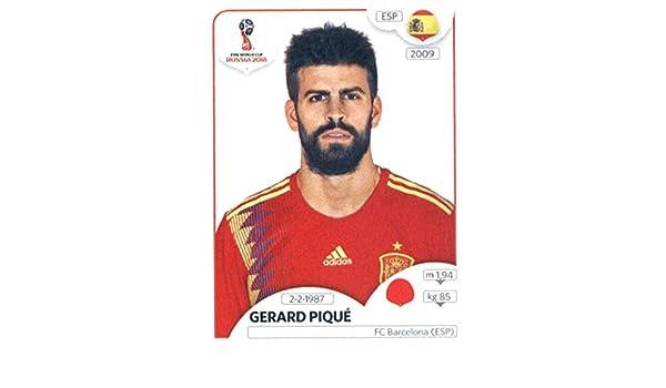 World Cup Stickers Russia Pegatinas para Copa del Mundo Rusia 2018 Panini 138 Gerard Pique España Fútbol: Amazon.es: Deportes y aire libre