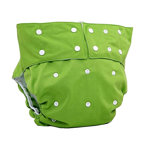 LukLoy - Teen / Adults Cloth Diapers with 2pcs Inserts fo...