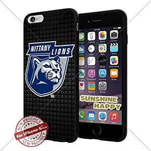 New Penn State Nittany Lions, Football NCAA Sunshine#4418 Cool iPhone 6 Plus - 5.5 Inch Smartphone Case Cover Collector iphone TPU Rubber Case Black