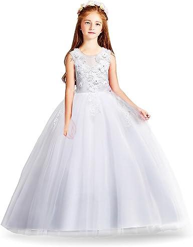 HUAANIUE Cérémonie Robe de Soirée Princesse