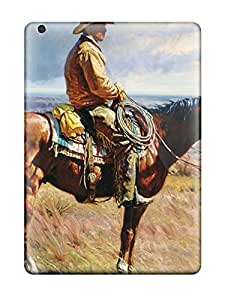 Anti Scratch And Shatterproof American West Phone Case For Ipad Air High Quality Tpu Case