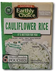 Nature's Earthly Choice Cauliflower Rice - 6 Pouches (6 x 8.5 ounces)