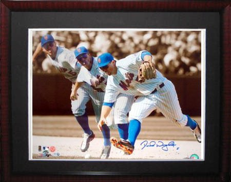 David Wright Autgraphed Steiner Framed Photo-16x20