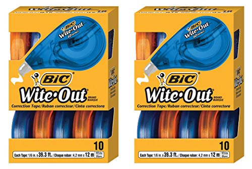 2 Pack Wite-Out Brand EZ Correct Correction Tape … by BIC (Image #1)