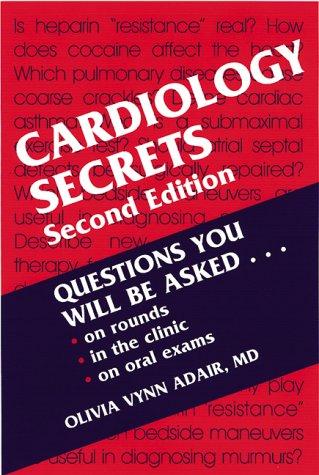 Cardiology Secrets, 2e -  Adair, 2nd Edition, Paperback