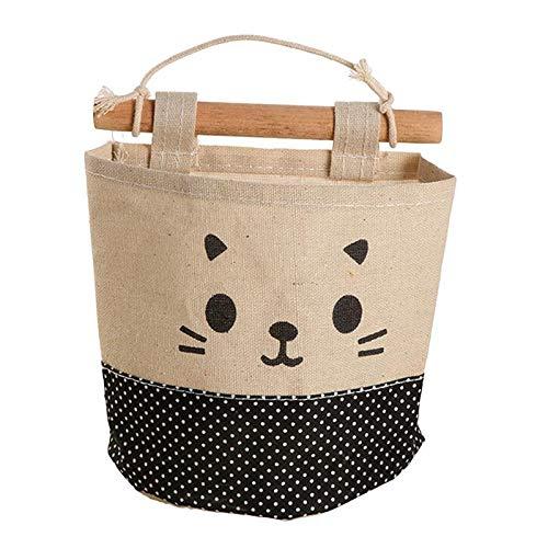Lumanuby bolsa de algodon bolsa de almacenamiento solo bolsillo bolsa de almacenamiento de cuero de gamuza