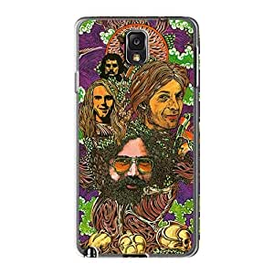 AlissaDubois Samsung Galaxy Note3 High Quality Hard Phone Cover Provide Private Custom Vivid Grateful Dead Pattern [kCF19621qqly]