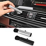 Forgun Car Air Outlet Cleaning,Adjustable Brush Car Instrument Panel Seams Brush Household Dust Cleaner
