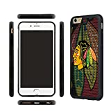 CHICEXP Chicago Blackhawks iPhone 6/6s TPU Shell Cover Case, with Tempered Glass Screen Protector
