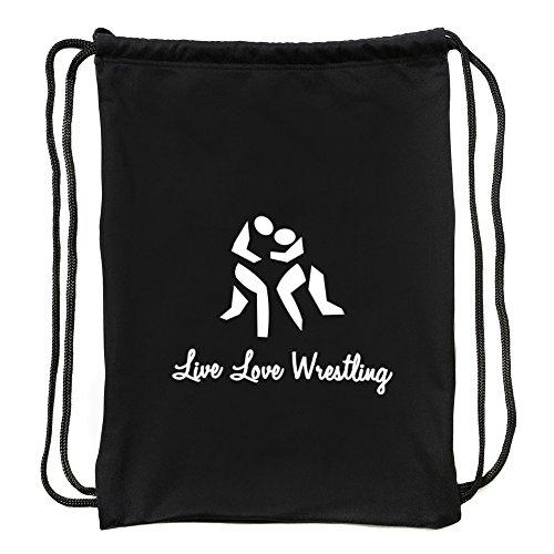 Eddany Live love Wrestling Sport Bag by Eddany