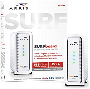 Refurb Arris SURFboard SB6183 DOCSIS 3.0 Cable Modem