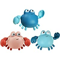 TOYANDONA 3Pcs Baby Bath Toy Swimming Tub Toys Bathtime Squirt Toys Bathroom Floating Toys for Babies Kids Toddlers (Mixed Colors)