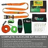 Complete Slackline Kit with Training Line - 60 ft