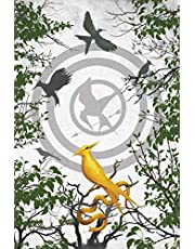 The Ballad of Songbirds and Snakes Blank Writing Journal (Hunger Games)