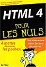 HTML 4 pour les nuls par Tittel