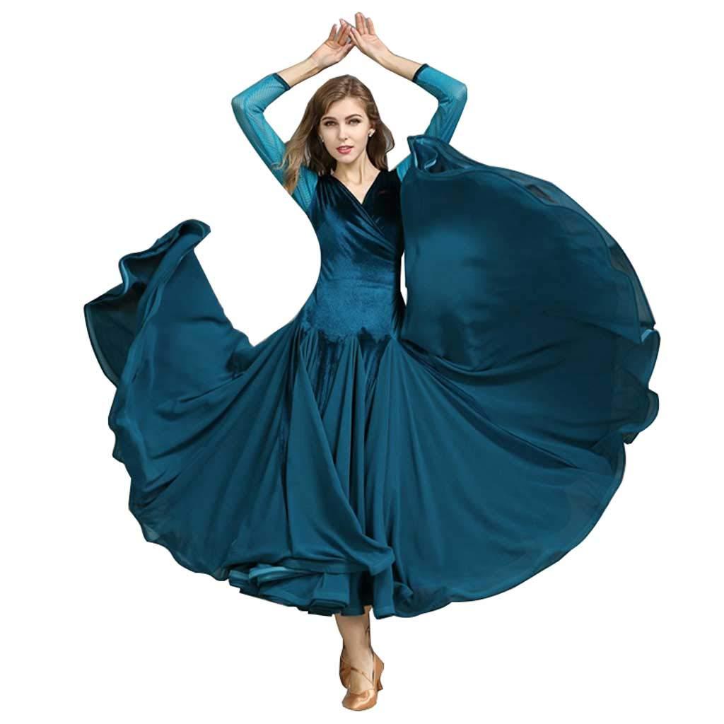 数量は多い  モダンダンスドレス、フォーシーズンピーコックブルードレス B07H2Y481B s S s|Peacock S Blue Peacock Blue Blue S s, ふみや文具店:bcd8a686 --- profrcsharma.woxpedia.com