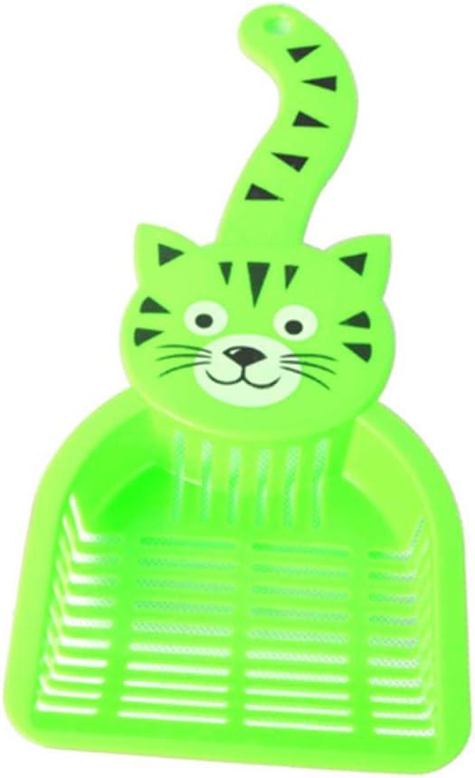 MASAP Arenero para Gatos, 2 Piezas, Pala de plástico para Limpiar desechos de Arena para Gatos: Amazon.es: Productos para mascotas