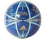 adidas Performance Finale Milano Capitano Soccer Ball, EQT Blue/Shock Blue/Solar Gold, 5