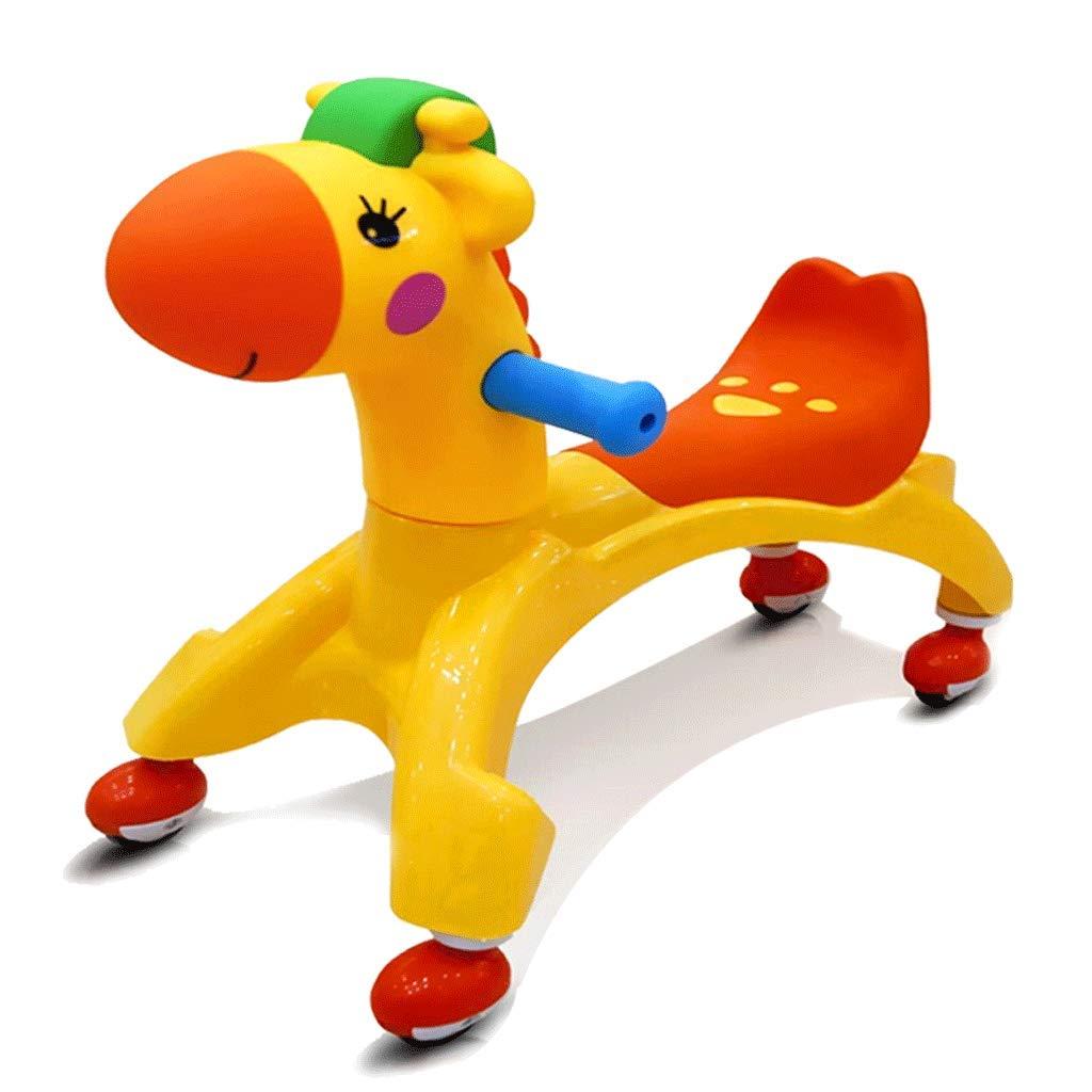 Sin impuestos Xiao ping amarillo Fun and Adorable Adorable Adorable Kid Ride-On, Safe Speed, Great Gift Idea Sin batería de Pedal Adecuada para 1-2 años de Edad  tienda de venta