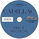 1961 Cadillac Repair Shop Manual on CD-ROM