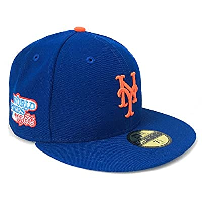 New York Mets 1986 World Series Champs Commemorative 59Fifty Authentic Fitted Baseball Cap (IJ Exclusive)