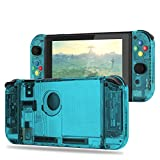 Replacement Housing Shell Case Set for Nintendo Switch Right Left Joy-Con Controller and Switch Console DIY replacement kit for your Switch without Electronics (Set-Ice Blue)