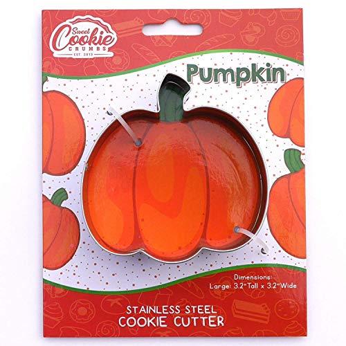 Pumpkin Cookie Cutter - Stainless Steel