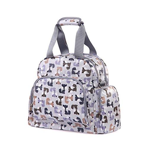 Luckywe Bolsos de Mujer Bolso Hombro Bolso Bandolera Bolsa de equipaje portátil multifunción Bolso Señoras Tote Multicolor1