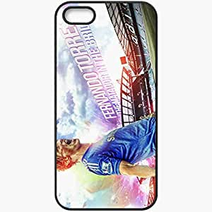 Personalized iPhone 5 5S Cell phone Case/Cover Skin 2013 incredible fernando torres chelsea Black