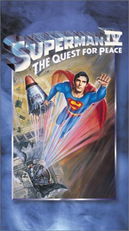 Superman IV: The Quest for Peace [USA] [VHS]: Amazon.es ...
