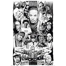 Posters: Rapper Poster - Rap Gods (36 x 24 inches)