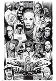 1art1 42438 Poster Rapper Les Dieux du Rap 91 x 61 cm