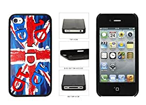 1D United Kingdom Flag Plastic Phone Case Back Cover Apple iPhone 4 4s
