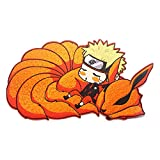 AMOLEY Naruto Embroidered Patch,Anime Cartoon Graffiti Decals for Clothes Dress Decor,Best Gift for Teens Adults(Style1)