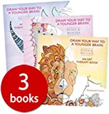 Draw Your Way to a Younger Brain Collection - 3 Books