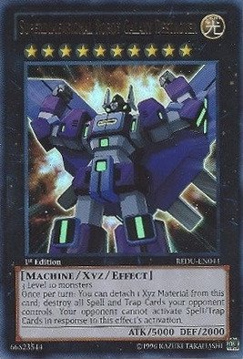 Yu-Gi-Oh! - Superdimensional Robot Galaxy Destroyer (REDU-EN044) - Return of the Duelist - 1st Edition - Ultra Rare