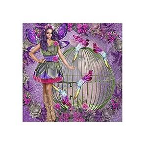 BeautyShe DIY 8D Kit de pintura de diamantes por número, bordado ...