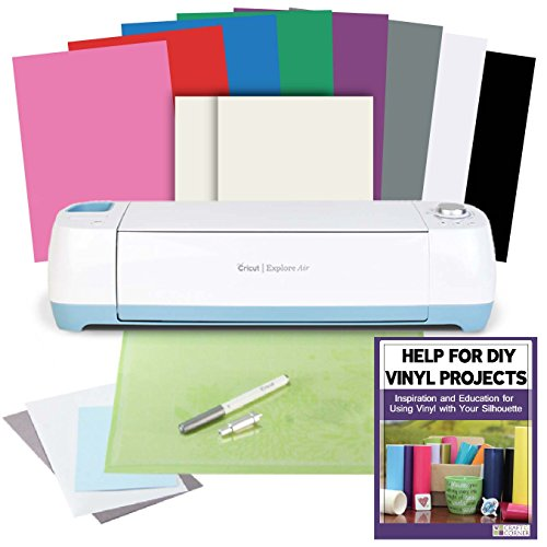BEST DEAL: Cricut Explore Air and Rainbow Vinyl Bundle