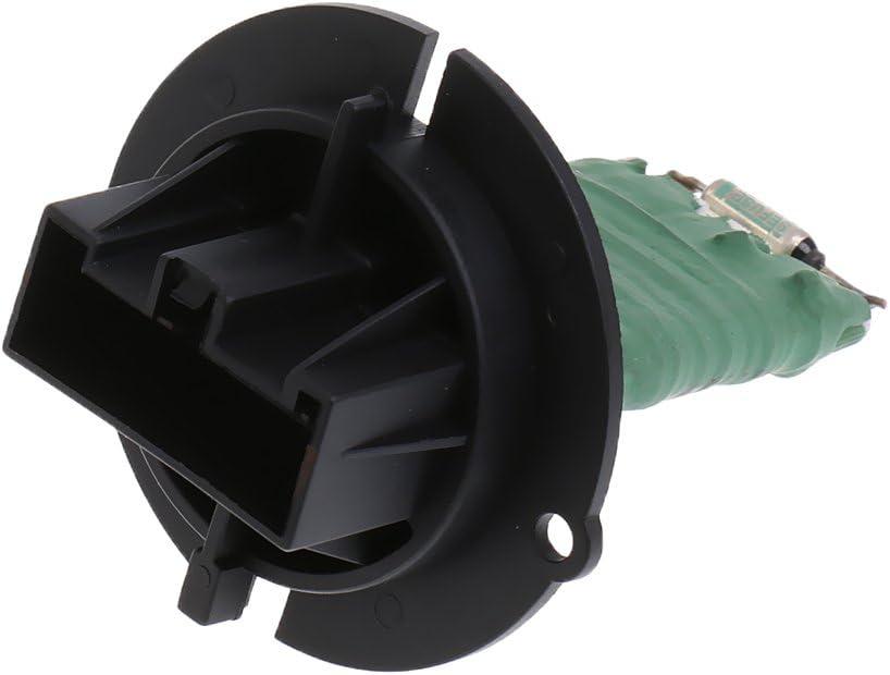 H HILABEE Resistenza Della Resistenza Della Ventola Del Motore Del Ventilatore Del Climatizzatore Compatibile Con Peugeot 206 307