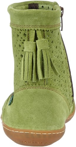 El Naturalista N262 Lux Suede Green / El Viajero - Botas Mujer Verde (Green)