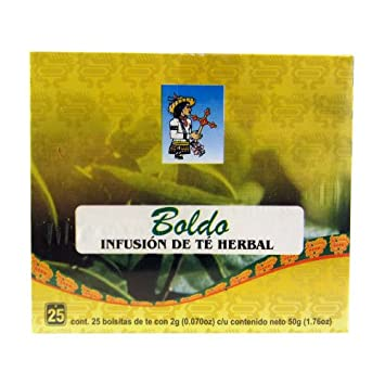 Amazon.com: CBN Boldo Tea 25 Tea Bags (Pack of 3): Health ...