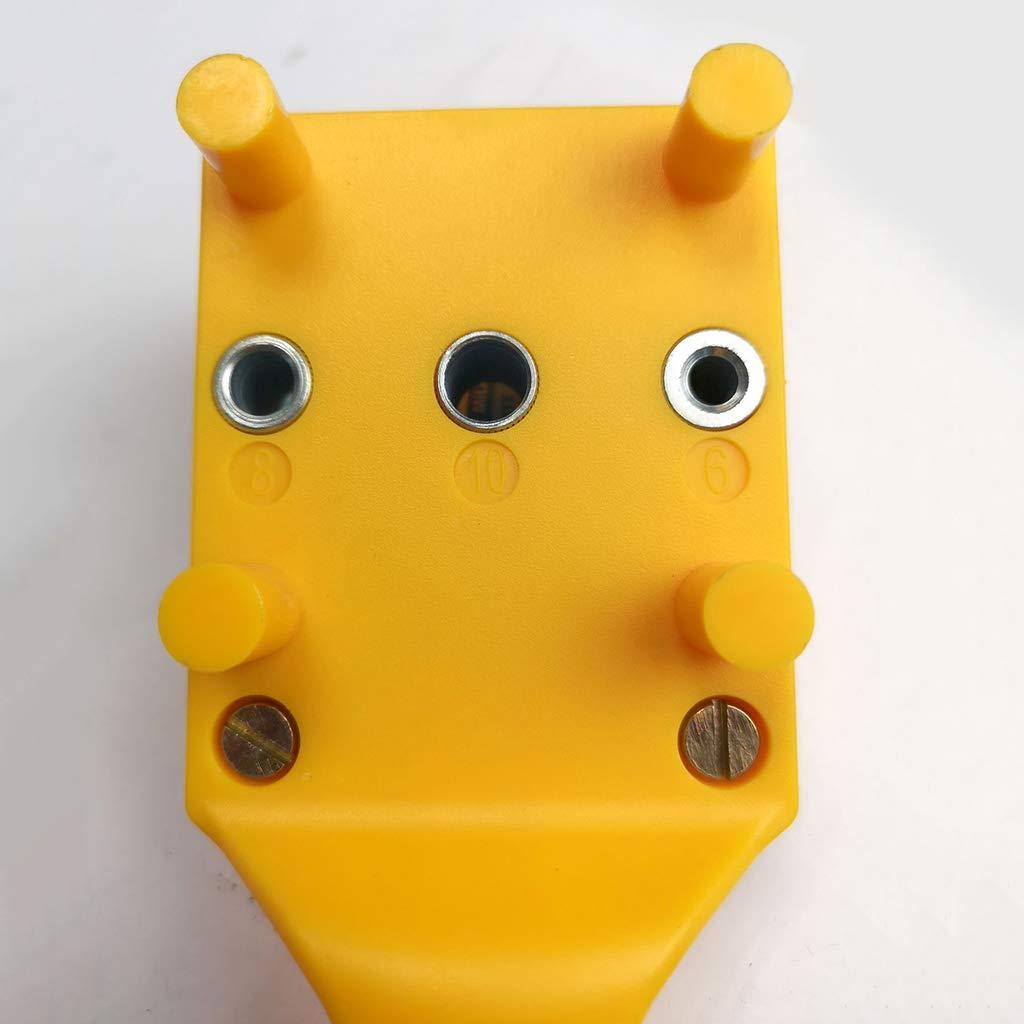 Homyl Kit de Localisateur de per/çage Gabarit pour centrage de trou 20x7x6.5 cm