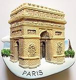 Arc de Triomphe PARIS Resin 3D fridge Refrigerator Thai Magnet Hand Made Craft. by Thai MCnets