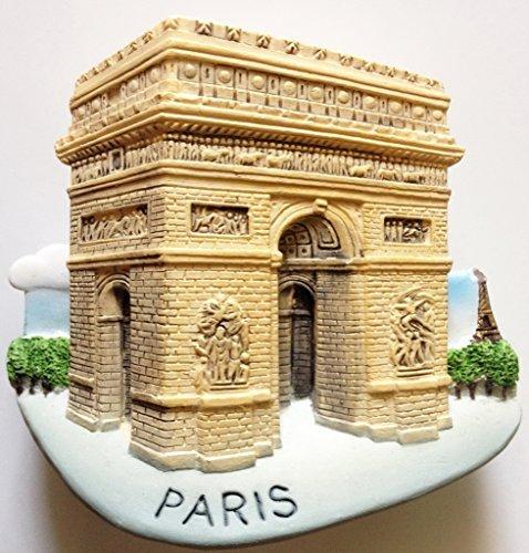 Arc de Triomphe PARIS Resin 3D fridge Refrigerator Thai Magnet Hand Made Craft. by Thai MCnets by Thai MCnets