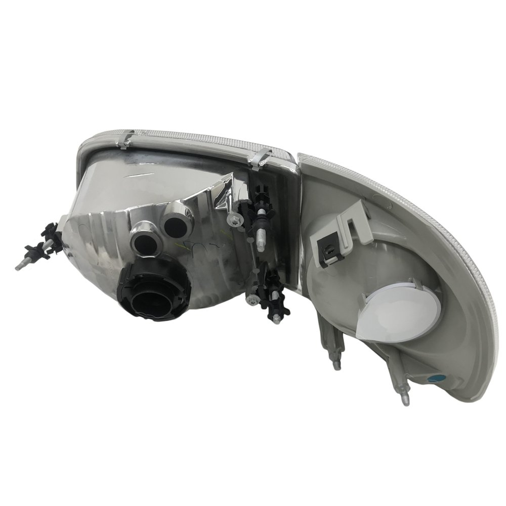 TopPick Headlights FOR Ford F-150 1997-2003 Fits Harley Davidson Model 3L3Z13008-1L3Z13201