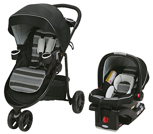 3 Wheel Baby Stroller With Car Seat - 8